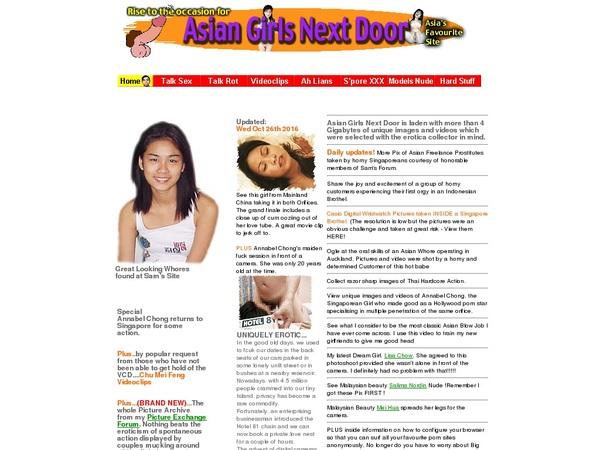 Asiangirlsnextdoor Gratis Password