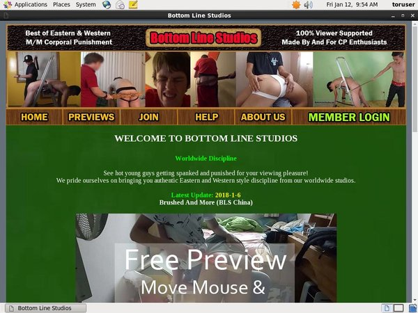 Bottom Line Studios Offer Paypal
