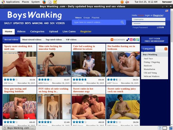Boys Wanking Co