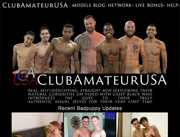 Clubamateurusa Sign Up