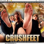 Crush Feet Vend-o.com