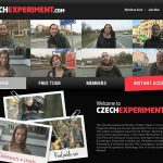 Czech Experiment Log In