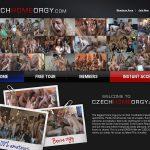 Czech Home Orgy Get Discount