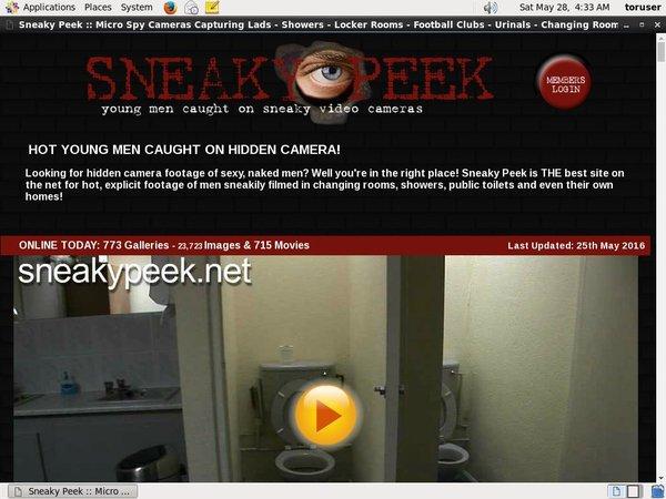 Free Account On Sneakypeek.net