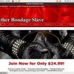 Free Leatherbondageslave Acounts