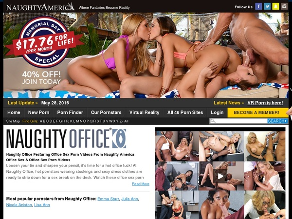 Get Into Naughty Office