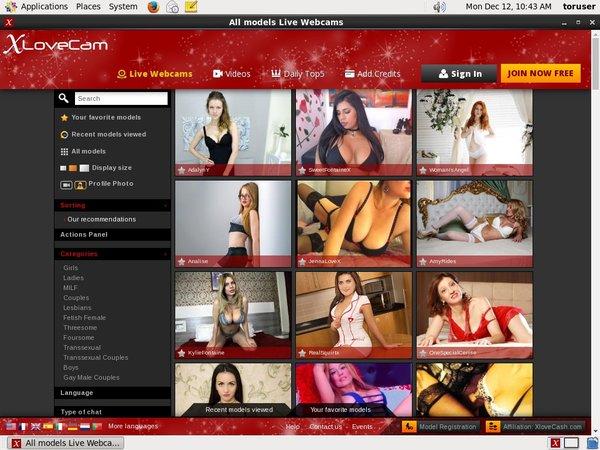 Joining Xlovecam.com