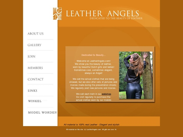 Leather Angels Paypal Options