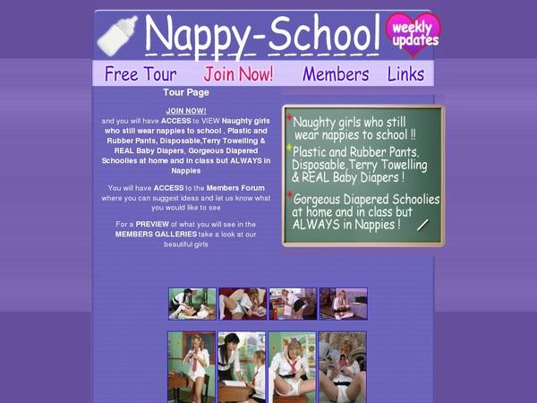 Nappy-school.com サイン アップ