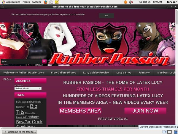 New Rubber Passion Password
