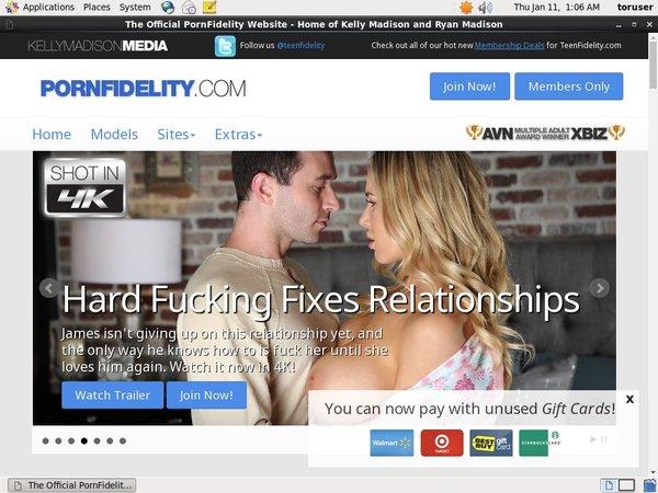 Pornfidelity.com Password Share