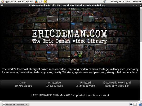 Premium Account Eric Deman