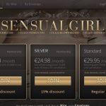 Sensual Girl Account Login