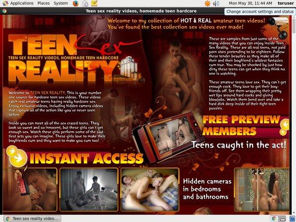 Teensexreality.com With Amex