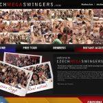 Czech Mega Swingers Kennwort