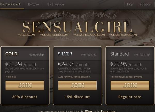 Sensualgirl Cost