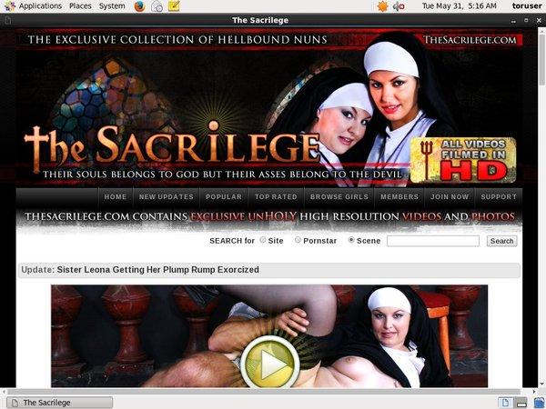Become The Sacrilege Member