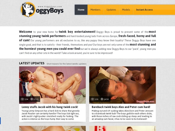 Doggyboys.com Free Account And Password