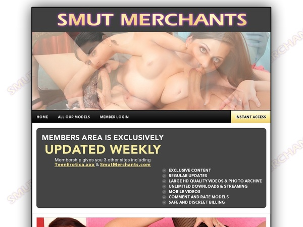 Smut Merchants Mobile Valid Password