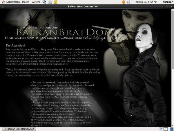 Balkanbratdom Account 2016