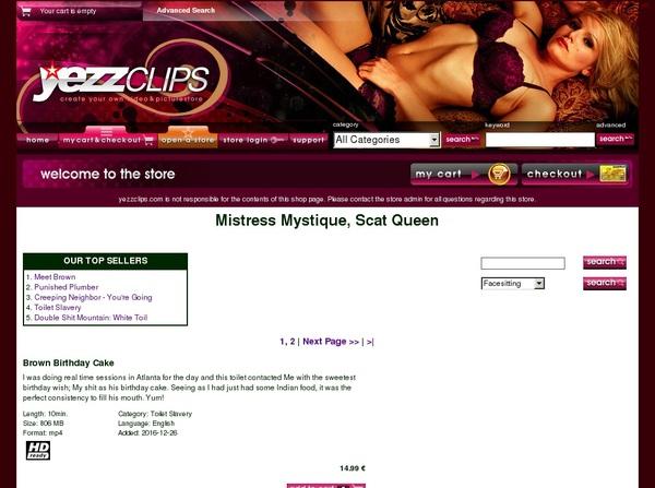 Free Password Yezzclips.com