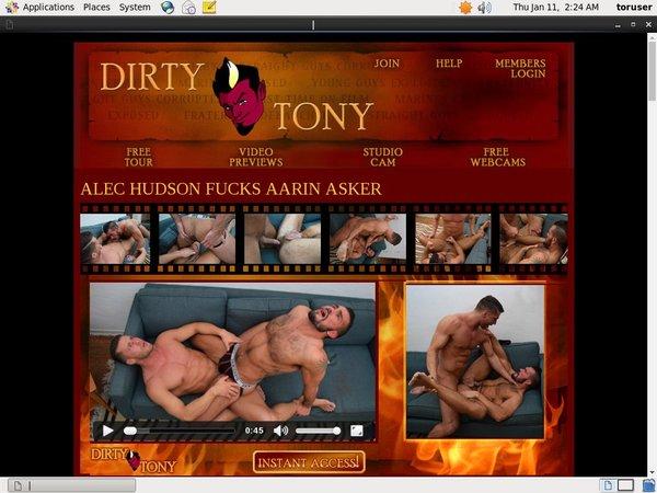 Dirtytony With ECheck