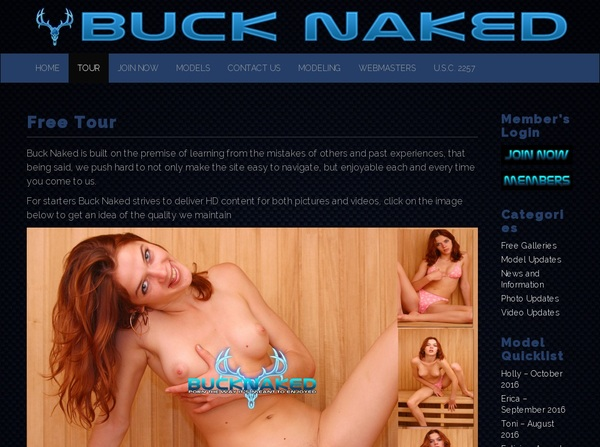 Buck Naked Review