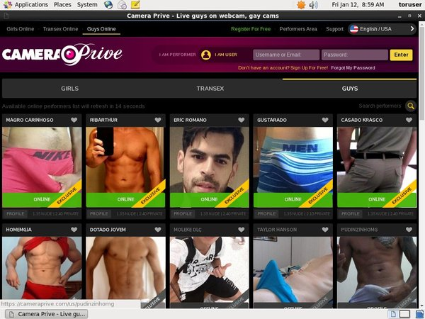 CameraPrive Gay Webcams Centrobill