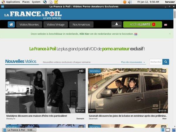 La France A Poil Bankeinzug