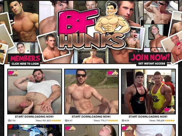 Account Free For BF Hunks