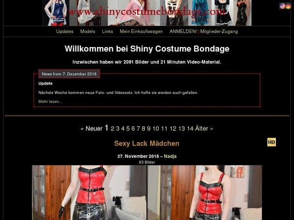 Premium Shinycostumebondage.com Pass