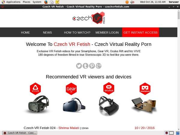 Czech VR Fetish Verotel
