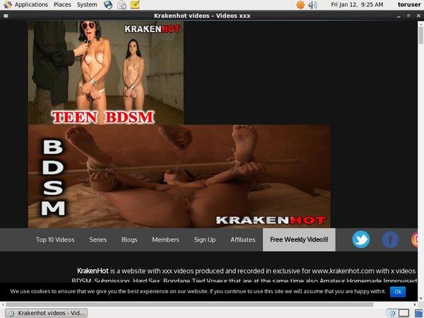 Free Krakenhot.com Pass