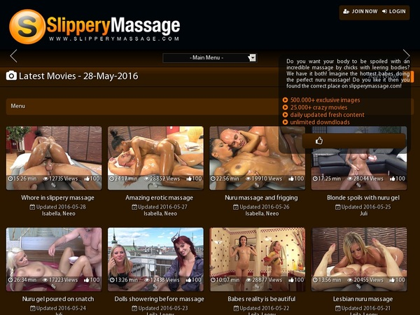 Get Free Slippery Massage Account