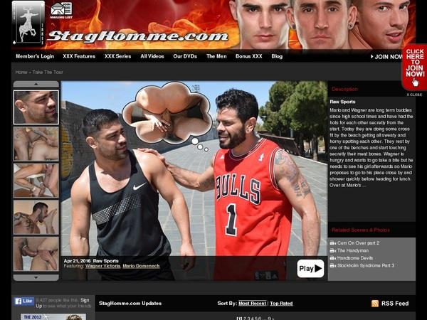 Staghomme.com Order Form