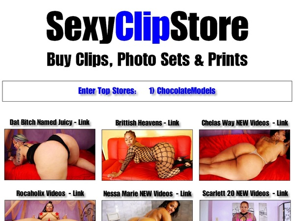 Sexyclipstore.com Free Memberships