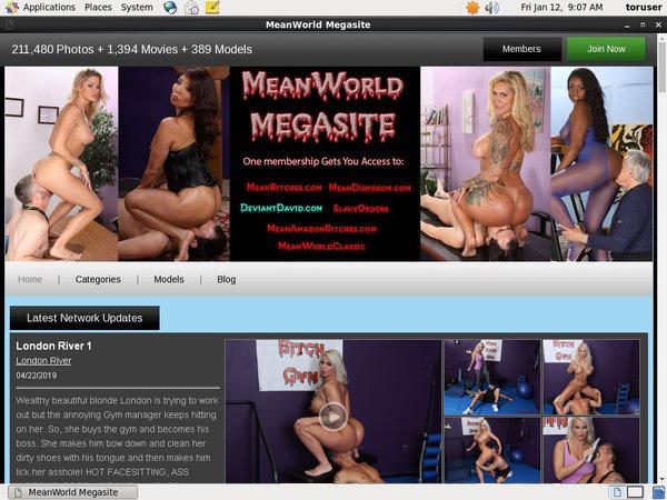 Meanworld.com Sconto